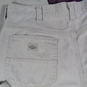 576291c6e9 Lee Dungarees Pants - Lee Dungarees Mens Khaki Carpenter Pants Sz 34x34